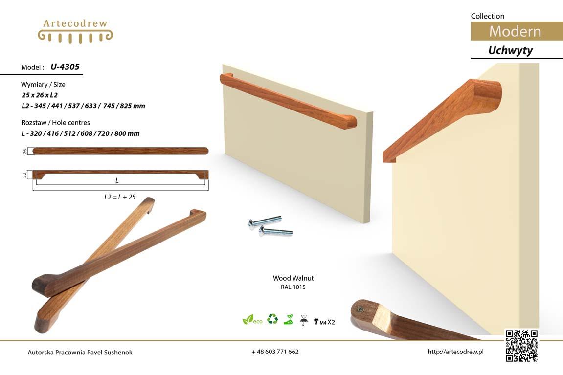 Katalog Uchwyty U4305 Modern