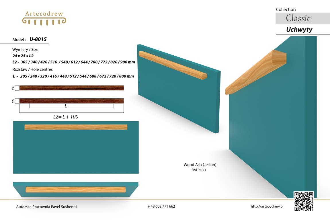 Katalog Uchwyty U8015 Modern