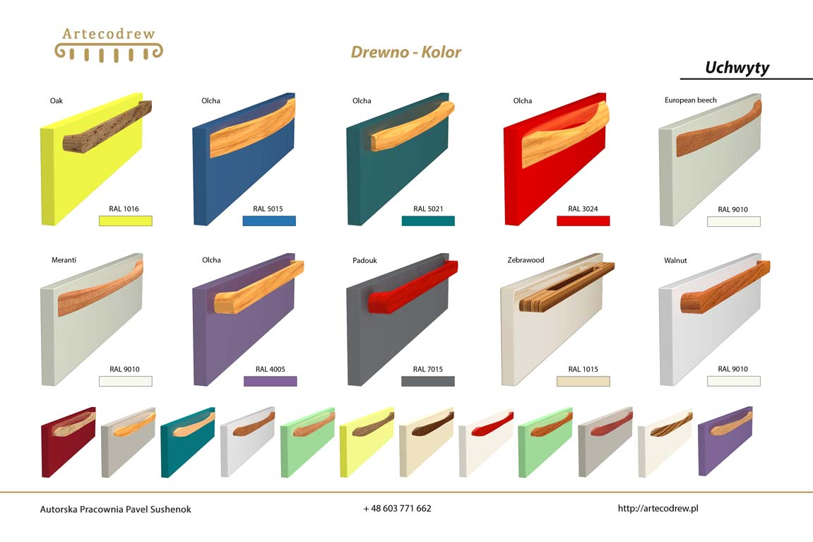Katalog Uchwyty Drewno-Kolor